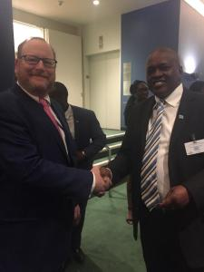 Vice-President of the Republic of Botswana Mokgweetsi Eric Masisi